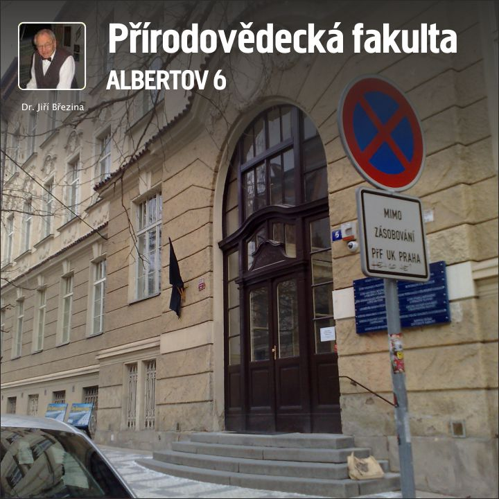 Entrance to Faculty of Natural Sciences, Albertov 6, Praha 2